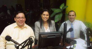 Manuel, María Dolores y Jorge